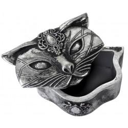 Sacred Cat Trinket Box Egyptian Marketplace  Egyptian Decor Statues, Jewelry & Art - God Statues & Museum Replicas