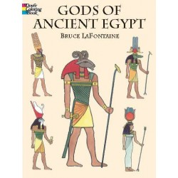 Gods of Ancient Egypt Coloring Book Egyptian Marketplace  Egyptian Decor Statues, Jewelry & Art - God Statues & Museum Replicas