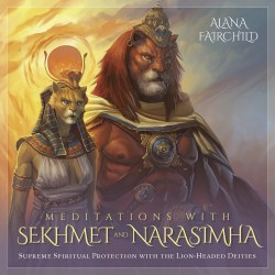 Meditations with Sekhmet and Narasimha CD Egyptian Marketplace  Egyptian Decor Statues, Jewelry & Art - God Statues & Museum Replicas
