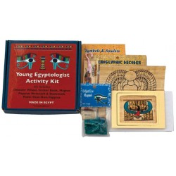 Young Egyptologist Activity Kit Egyptian Marketplace  Egyptian Decor Statues, Jewelry & Art - God Statues & Museum Replicas