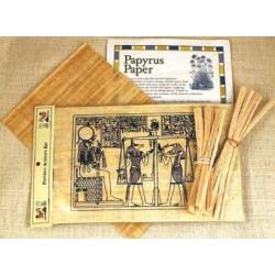 Papyrus Activity Kit Egyptian Marketplace  Egyptian Decor Statues, Jewelry & Art - God Statues & Museum Replicas