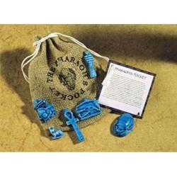 Pharoahs Pocket Amulet Set Egyptian Marketplace  Egyptian Decor Statues, Jewelry & Art - God Statues & Museum Replicas