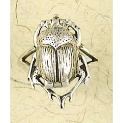 Scarab Sterling Silver Poison Ring Egyptian Marketplace  Egyptian Decor Statues, Jewelry & Art - God Statues & Museum Replicas