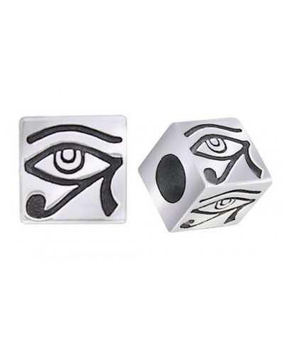 Eye of Horus Square Bead at Egyptian Marketplace,  Egyptian Decor Statues, Jewelry & Art - God Statues & Museum Replicas