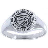 Eye of Horus Egyptian Signet Ring