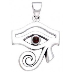 Eye of Horus Egyptian Pendant with Gemstone Egyptian Marketplace  Egyptian Decor Statues, Jewelry & Art - God Statues & Museum Replicas
