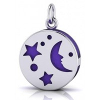 Silver Moon Aromatherapy Pendant