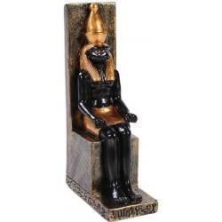 Horus Mini Egyptian God Statue Egyptian Marketplace  Egyptian Decor Statues, Jewelry & Art - God Statues & Museum Replicas