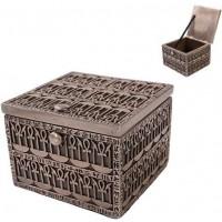 Ankh Bronze Resin Trinket Box