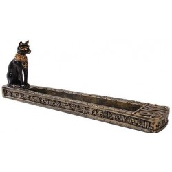 Bastet Egyptian Incense Burner Egyptian Marketplace  Egyptian Decor Statues, Jewelry & Art - God Statues & Museum Replicas