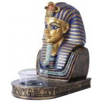 King Tut Egyptian Tea Light Candle Holder at Egyptian Marketplace,  Egyptian Decor Statues, Jewelry & Art - God Statues & Museum Replicas