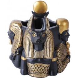 Gods of Egypt Utility Cup Holder Egyptian Marketplace  Egyptian Decor Statues, Jewelry & Art - God Statues & Museum Replicas