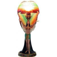 Winged Isis Table Lamp