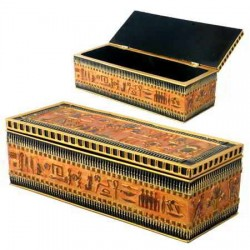 Egyptian Long Box Egyptian Marketplace  Egyptian Decor Statues, Jewelry & Art - God Statues & Museum Replicas