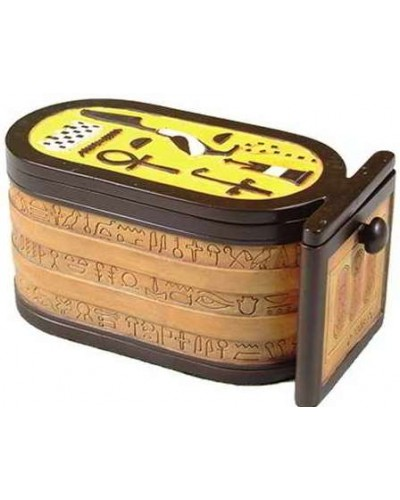 Egyptian Cartouche 6 Inch Box at Egyptian Marketplace,  Egyptian Decor Statues, Jewelry & Art - God Statues & Museum Replicas