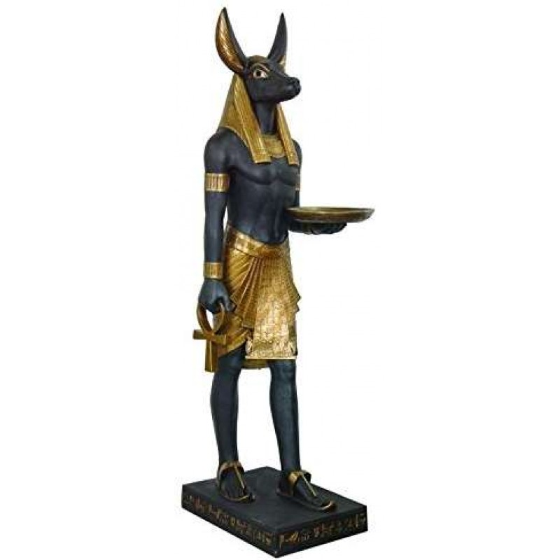 Anubis Egyptian Dog God Life Size 6 Feet Tall Statue At Egyptian Marketplace Egyptian Decor