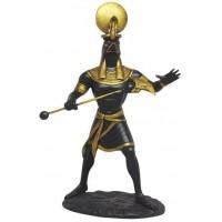 Ra Egyptian God of the Sun Back Statue