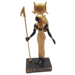 Hathor Egyptian Goddess Mini Statue Egyptian Marketplace  Egyptian Decor Statues, Jewelry & Art - God Statues & Museum Replicas