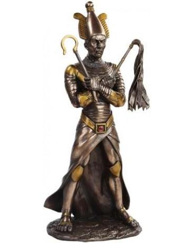 Osiris Egyptian God of the Underworld Bronze Resin Statue at Egyptian Marketplace,  Egyptian Decor Statues, Jewelry & Art - God Statues & Museum Replicas