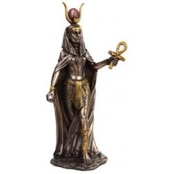 Hathor Egyptian Goddess Statue Egyptian Marketplace  Egyptian Decor Statues, Jewelry & Art - God Statues & Museum Replicas