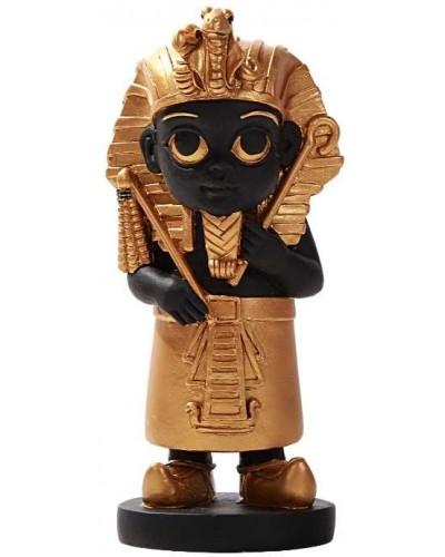 King Tut Little Egyptian Pharoah Statue at Egyptian Marketplace,  Egyptian Decor Statues, Jewelry & Art - God Statues & Museum Replicas