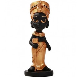Nefertiti Little Egyptian Queen Statue Egyptian Marketplace  Egyptian Decor Statues, Jewelry & Art - God Statues & Museum Replicas