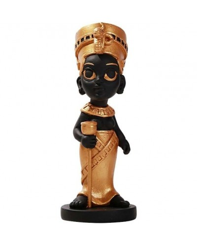 Nefertiti Little Egyptian Queen Statue at Egyptian Marketplace,  Egyptian Decor Statues, Jewelry & Art - God Statues & Museum Replicas