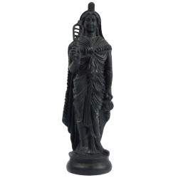 Greek Isis Holding Sistrum Statue Egyptian Marketplace  Egyptian Decor Statues, Jewelry & Art - God Statues & Museum Replicas