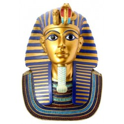 King Tuts Golden Mask Statue Egyptian Marketplace  Egyptian Decor Statues, Jewelry & Art - God Statues & Museum Replicas