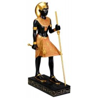 Egyptian Tomb Guardian Statue - 8.5 Inches