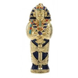 King Tut Coffin Jeweled Egyptian Gold Plated Box Egyptian Marketplace  Egyptian Decor Statues, Jewelry & Art - God Statues & Museum Replicas