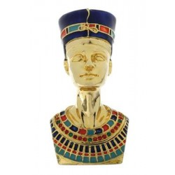 Nefertiti Egyptian Queen Gold Plated Jeweled Box Egyptian Marketplace  Egyptian Decor Statues, Jewelry & Art - God Statues & Museum Replicas
