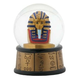 King Tut Water Globe Egyptian Marketplace  Egyptian Decor Statues, Jewelry & Art - God Statues & Museum Replicas