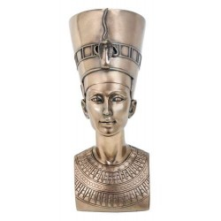 Nefertiti Egyptian Queen 7 Inch Bronze Bust Egyptian Marketplace  Egyptian Decor Statues, Jewelry & Art - God Statues & Museum Replicas