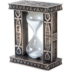 Egyptian Ankh Sand Timer Egyptian Marketplace  Egyptian Decor Statues, Jewelry & Art - God Statues & Museum Replicas
