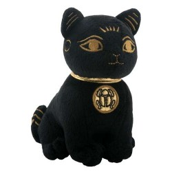 Bast Small Egyptian Cat Plushie Egyptian Marketplace  Egyptian Decor Statues, Jewelry & Art - God Statues & Museum Replicas