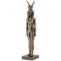 Isis Egyptian Goddess Bronze Finish Statue Egyptian Marketplace  Egyptian Decor Statues, Jewelry & Art - God Statues & Museum Replicas