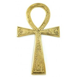 Ankh - Large Brass Egyptian Ankh 6.5 Inches Egyptian Marketplace  Egyptian Decor Statues, Jewelry & Art - God Statues & Museum Replicas
