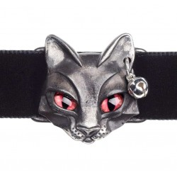 Bastet Egyptian Goddess Pewter Choker