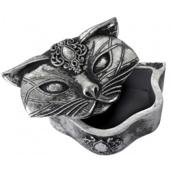 Sacred Cat Trinket Box Egyptian Marketplace  Egyptian Decor Statues, Jewelry & Art - God Statues & Museum Replicas