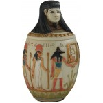 Canopic Jar of Imseti, Large Human Headed Egyptian Jar at Egyptian Marketplace,  Egyptian Decor Statues, Jewelry & Art - God Statues & Museum Replicas