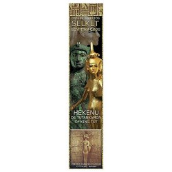 Selket Hekenu Egyptian Incense Sticks - Pack of 3 Egyptian Marketplace  Egyptian Decor Statues, Jewelry & Art - God Statues & Museum Replicas