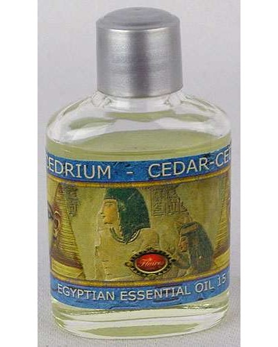 Cedar Egyptian Essential Oil at Egyptian Marketplace,  Egyptian Decor Statues, Jewelry & Art - God Statues & Museum Replicas