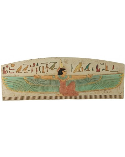 Winged Isis The Protector Wall Relief at Egyptian Marketplace,  Egyptian Decor Statues, Jewelry & Art - God Statues & Museum Replicas