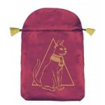 Egyptian Cat Satin Bag at Egyptian Marketplace,  Egyptian Decor Statues, Jewelry & Art - God Statues & Museum Replicas