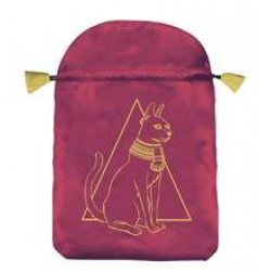 Egyptian Cat Satin Bag