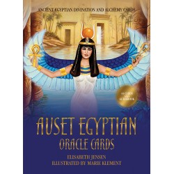 Auset Egyptian Oracle Cards Egyptian Marketplace  Egyptian Decor Statues, Jewelry & Art - God Statues & Museum Replicas