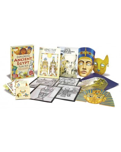 Exploring Ancient Egypt Fun Kit at Egyptian Marketplace,  Egyptian Decor Statues, Jewelry & Art - God Statues & Museum Replicas