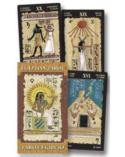 Egyptian Tarot deck at Egyptian Marketplace,  Egyptian Decor Statues, Jewelry & Art - God Statues & Museum Replicas