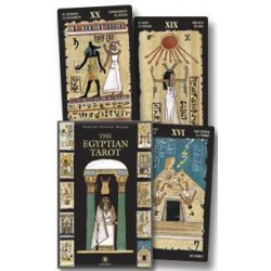Egyptian Tarot Cards Boxed Kit